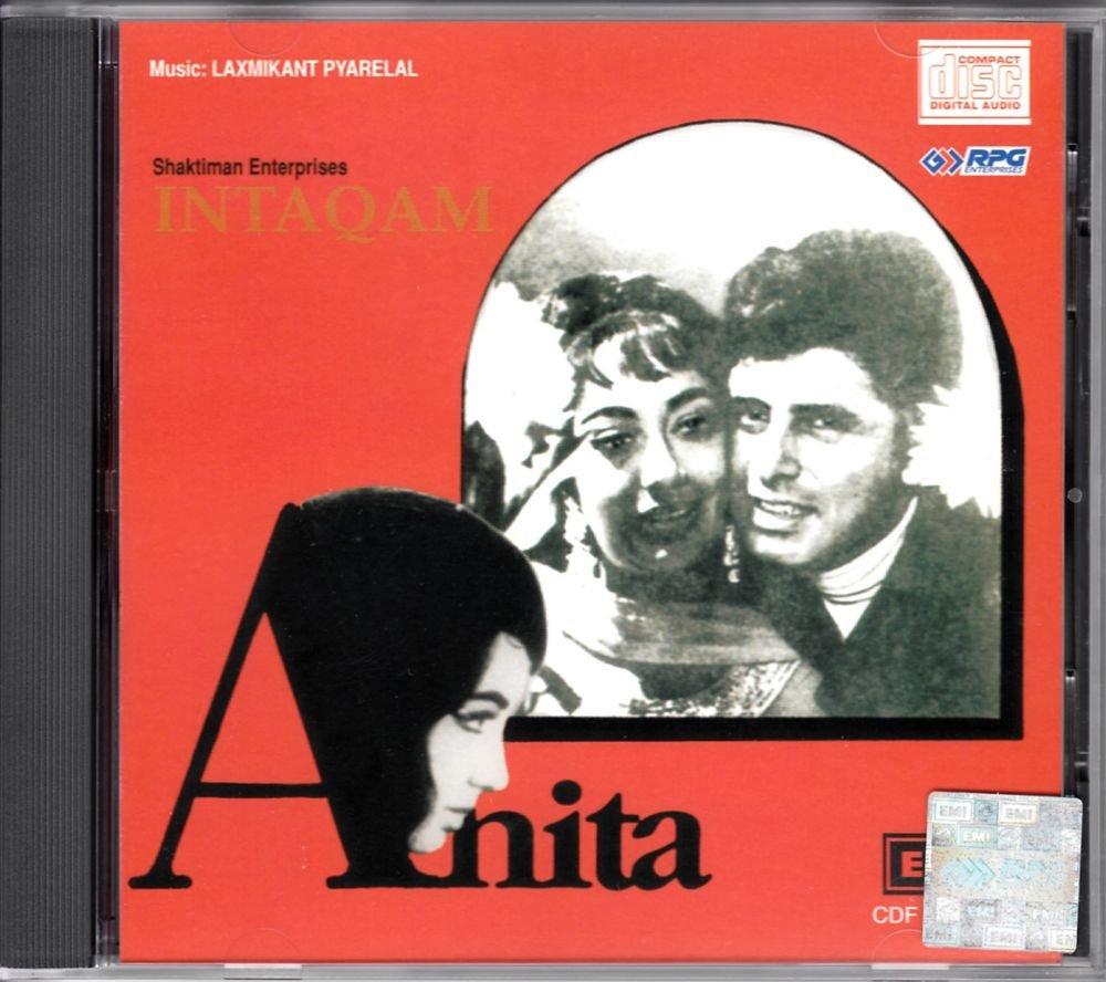 Intaqam / Anita (Music: Laxmikant Pyarelal) (Soundtrack) (Made in USA)
