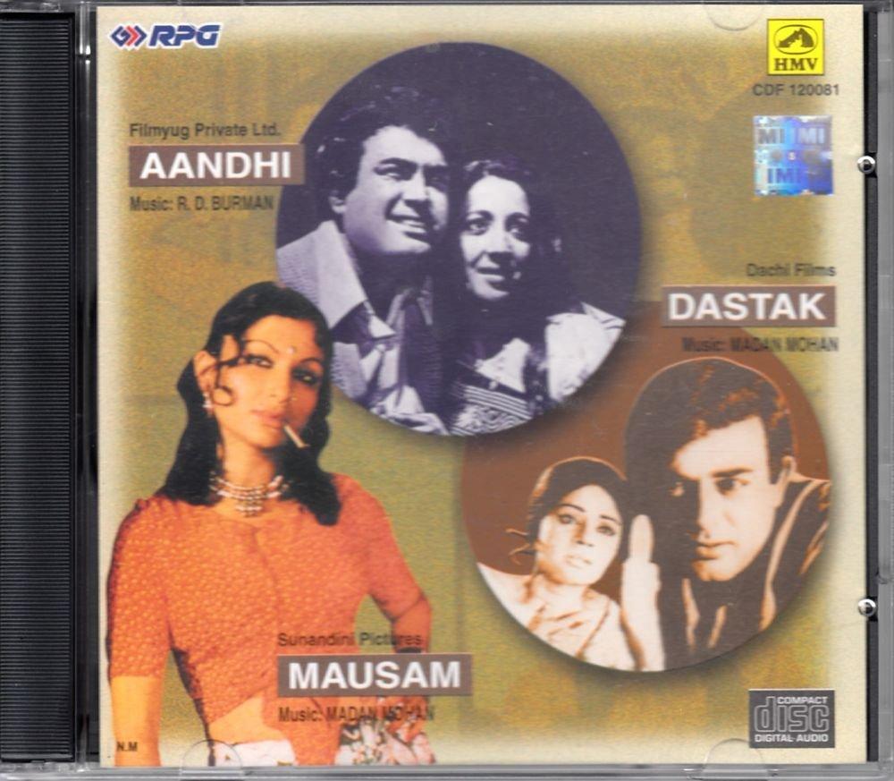 Aandhi / Dastak / Mausam (Music: R.D. Burman & Madan Mohan) (Made in India)
