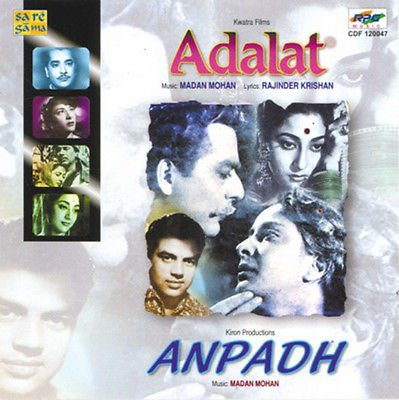 Adalat / Anpadh (Music by Rajinder Krishan & Madan Mohan) (Soundtrack)