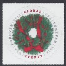 #4814 $1.10 Evergreen Wreath Global Rate Forever Mint NH