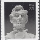 #4860 21c Abraham Lincoln Statue 2nd oz Rate Single Mint NH