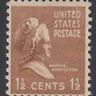 #805 1.5c Presidential Issue Martha Washington 1938 Mint NH