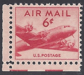 C39 6c US AirMail DC-4 Skymaster 1949 Mint NH