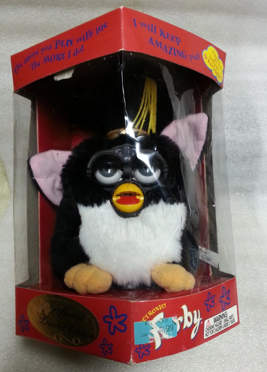 Electronic Furby Special Limited Ed. 70-886 Green Eyes