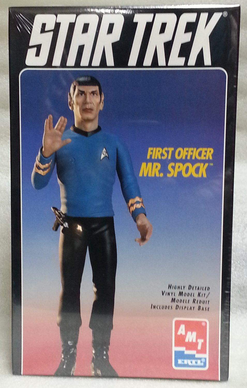 Star Trek First Officer Mr. Spock AMT/Ertl NIB