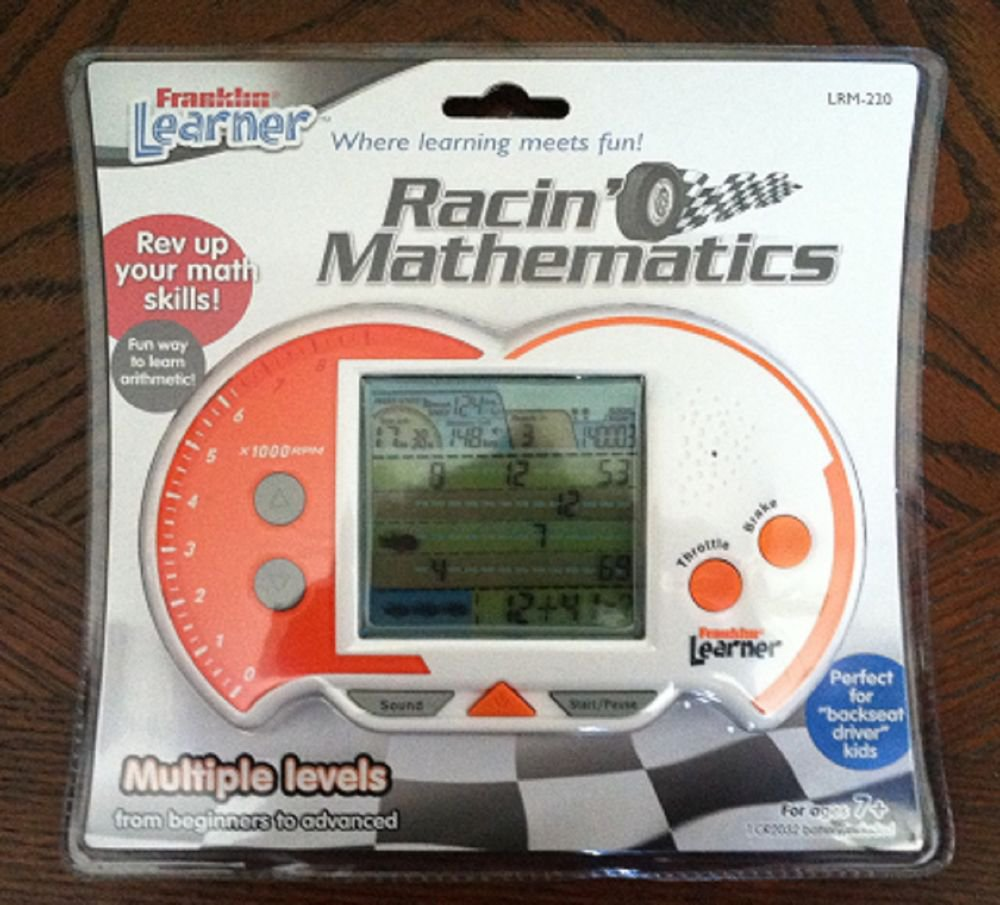 New Racin' Mathematics by Franklin Learner ages 7+ LRM-220