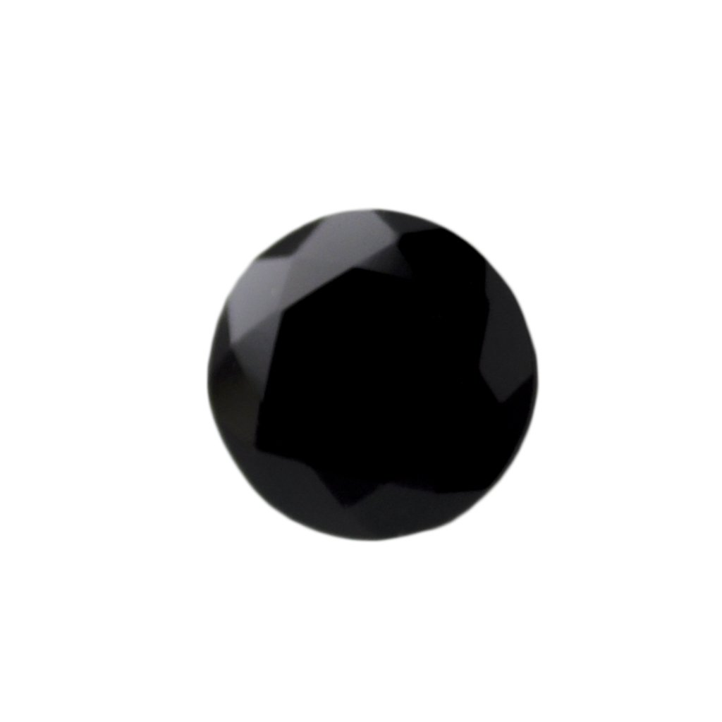 Certified Natural Black Spinal AAA Quality 1.6 mm Faceted Round Shape 100 pcs Lot Loose Gemstone