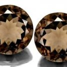 Certified Natural Smoky Quartz AAA Quality 3 mm Faceted Round Shape 10 pcs Lot Loose Gemstoe