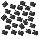 Certified Natural Black Spinal AAA Quality 7x5 mm Faceted Octagon Shape 25 pcs Lot Loose Gemston