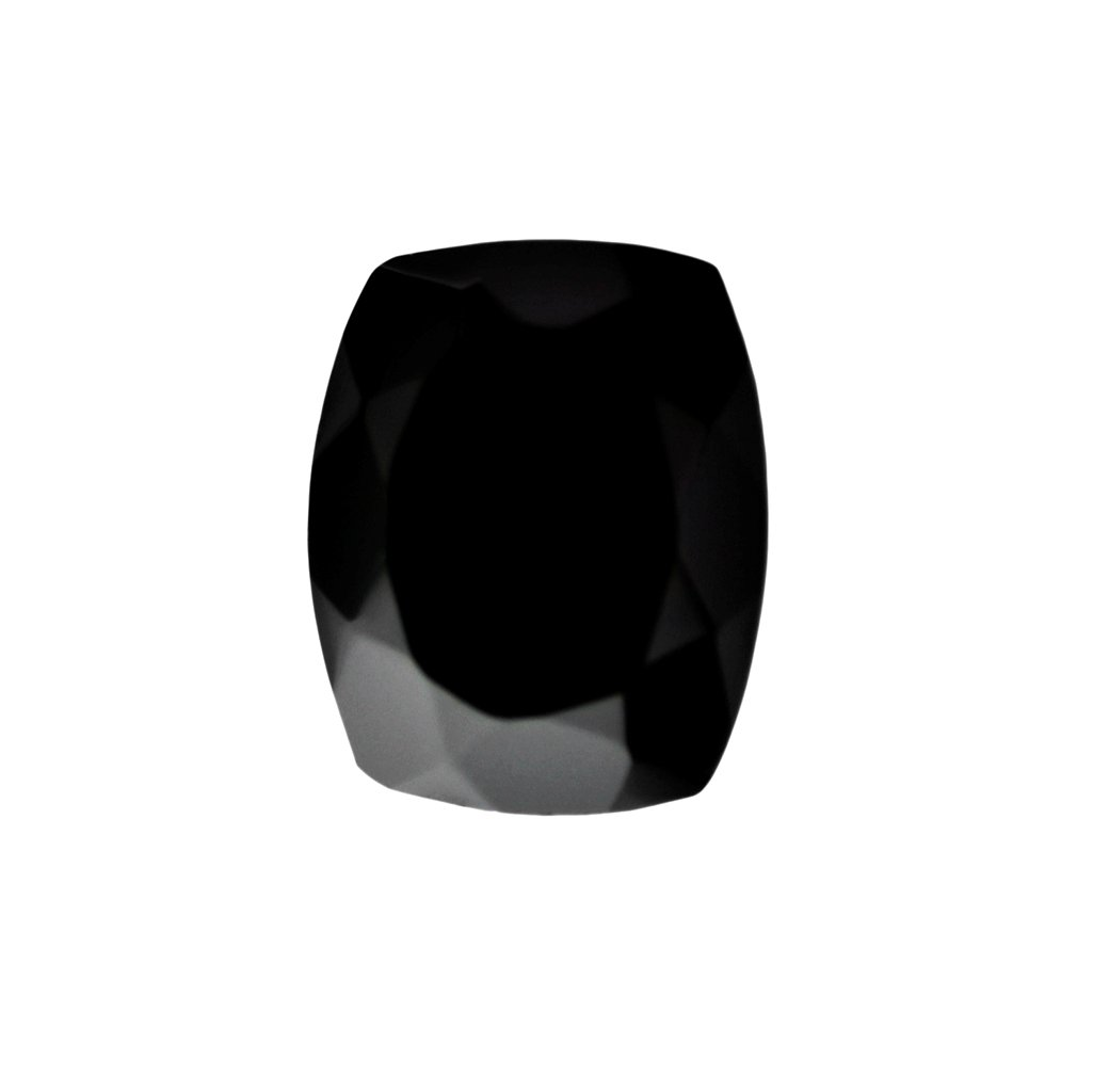 Certified Natural Black Spinal AAA Quality 6x4 mm Faceted Cushion Shape 100 pcs lot Loose Gemston