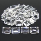 Certified Natural White Topaz AAA Quality 10x8 mm Faceted Octagon Shape 1 pc  Loose Gemstone