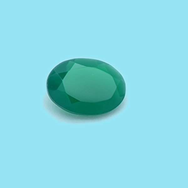 Certified Natural Green Onyx AAA Quality 16x12 mm Faceted Oval Shape Pair Loose Gemstone