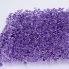 Certified Natural Amethyst AAA Quality 6 mm Faceted Round Shape 50 pcs Lot Loose Gemstone
