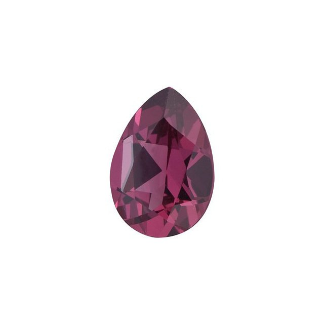 Certified Natural Rhodolite AAA Quality 7x5 mm Faceted Pears Shape 1 pc Loose Gemstone