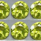 Certified Natural Peridot AAA Quality 2 mm Faceted Round Shape 10 pcs Lot Loose Gemstone