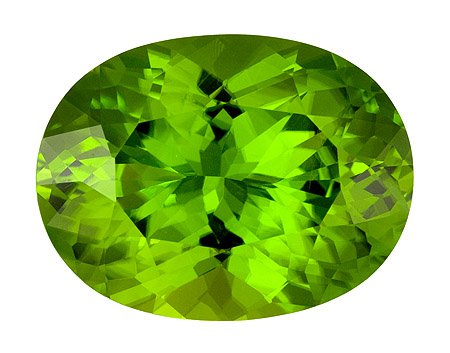 Certified Natural Peridot AAA Quality 4x3 mm Faceted Oval Shape 50 pcs Lot Loose Gemstone