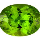 Certified Natural Peridot AAA Quality 5x3 mm Faceted Oval Shape 20 pcs Lot Loose Gemstone