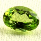 Certified Natural Peridot AAA Quality 6x4 mm Faceted Oval Shape pair Loose Gemstone