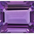 Certified Natural Amethyst AAA Quality 8x6 mm Faceted Octagon Shape 25 pcs Lot Loose Gemstone