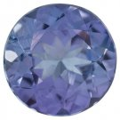Certified Natural Tanzanite AA Quality 2.5 mm Faceted Round 50 pcs lot loose gemstone