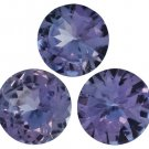 Certified Natural Tanzanite AA Quality 6 mm Faceted Round 2 pcs Pair loose gemstone