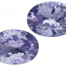 Certified Natural Tanzanite AA Quality 5x4 mm Faceted Oval 5 pcs lot loose gemstone