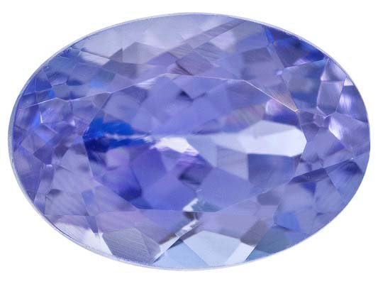 Certified Natural Tanzanite AA Quality 8x6 mm Faceted Oval 1 pc loose gemstone