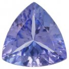 Certified Natural Tanzanite AA Quality 4 mm Faceted Trillion 50 pcs lot loose gemstone