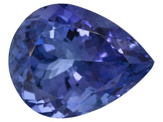 Certified Natural Tanzanite AAA Quality 4x3 mm Faceted Pear 25 pcs lot loose gemstone