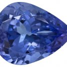 Certified Natural Tanzanite AAA Quality 4x3 mm Faceted Pear 100 pcs lot loose gemstone