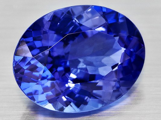 Certified Natural Tanzanite AAA Quality 5x4 mm Faceted Oval 5 pcs lot loose gemstone