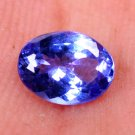 Best Quality Natural Tanzanite Violet Blue 1.20 Ct Oval Shape Certified HG 9006