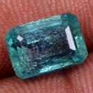 Tempting Stone Natural Emerald 3.73 Ct Emerald Shape Gemstone Certified~HG 9287