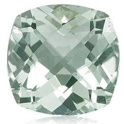 Certified Natural Green Amethyst AAA Quality 8 mm Faceted Cushion 35 pcs lot loose gemstone