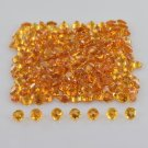 Natural Citrine top Quality 4mm Faceted Round 5 Pieces Lot Loose Gemstone