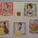 Noronha116 Scrapbook Stickers Squares Snow White