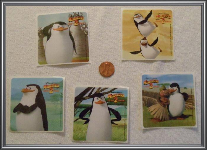 Noronha116 Scrapbook Stickers Squares Madagascar