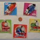 Noronha116 Scrapbook Stickers Squares Thomas Train Friends