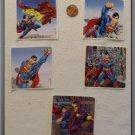 Noronha116 Scrapbook Stickers Squares Superman Hero