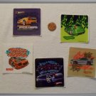 Noronha116 Scrapbook Stickers Squares Hot Wheels Cars
