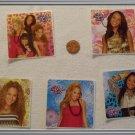 Noronha116 Scrapbook Stickers Squares The Cheetah Girls