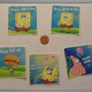 Noronha116 Scrapbook Stickers Squares Spongebob Squarepants