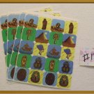 Noronha116 Scrapbook Stickers Sheets Lot Egyptian