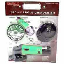 10 Pcs Angle Grinder Blister Pack - MSRP $79.99