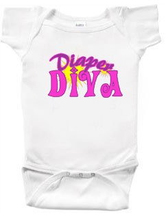 Lot of 12 - Diaper Diva Baby Onesie $5.78 Each!