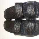 Pali Hawaii Sandals PH405 SIZE 8 BLACK 1 Pair