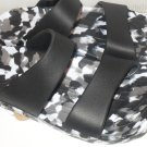 Pali Hawaii Sandals PH119 size 12 speckled black/white - 1 PAIR