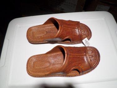 Pali Hawaii Sandal PH186 - SIZE 13 MENS-brown-1 pair