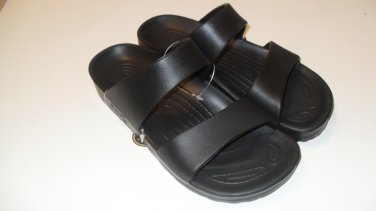 Pali Hawaii Sandals PH119 size 6 BLACK (one pair)