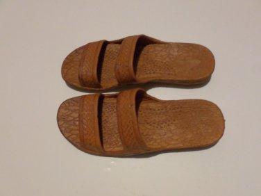 Pali Hawaii Sandals PH405 SIZE 8-2 pairs brown/black